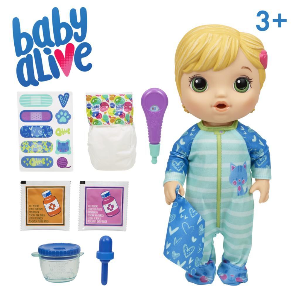 Muñeca Baby Alive Bebé Cuidados Baby Cat image number 3.0