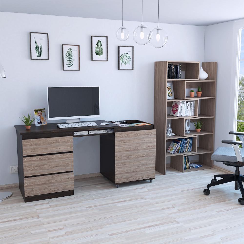 Combo Casaideal Office 10 / Biblioteca + Escritorio image number 1.0