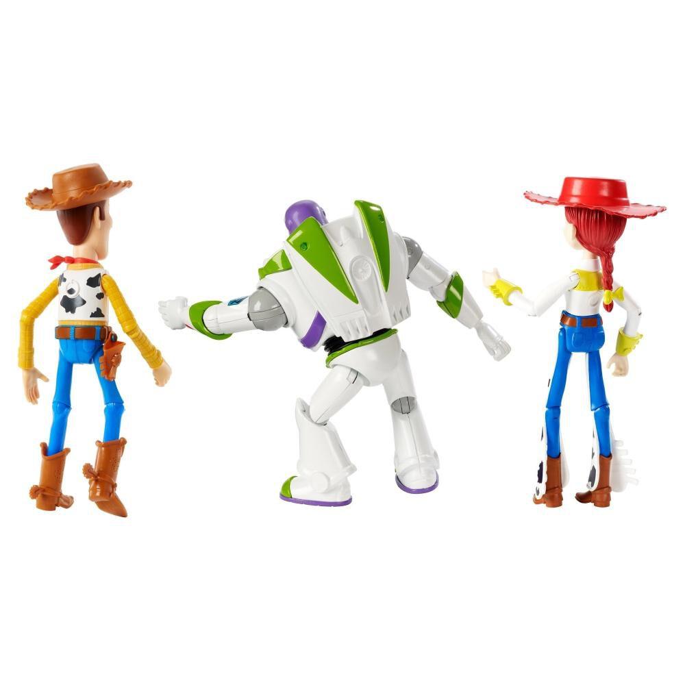 Set De Figuras Toy Story Buzz Lightyear, Woody Y Jessie Llegada Con Bonnie image number 1.0