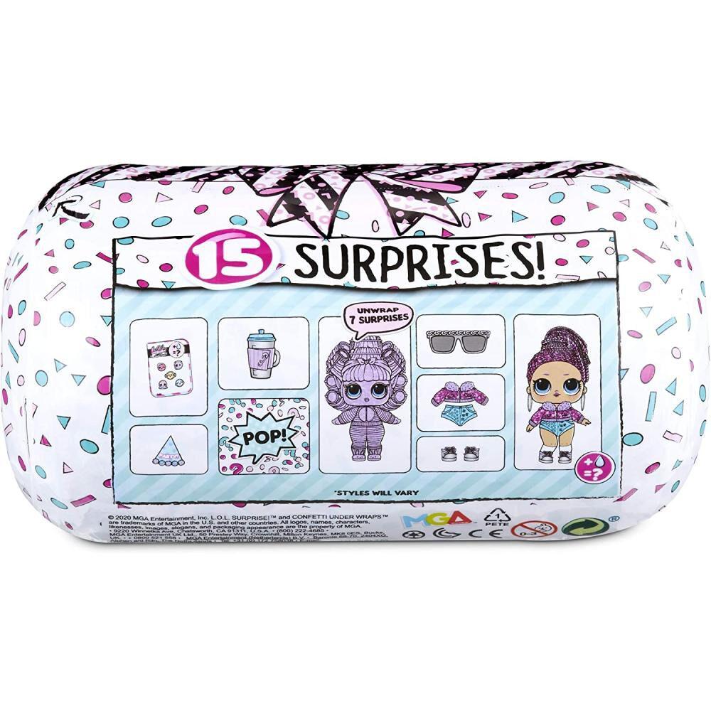 Mini Muñeca Lol Surprise Confetti image number 2.0