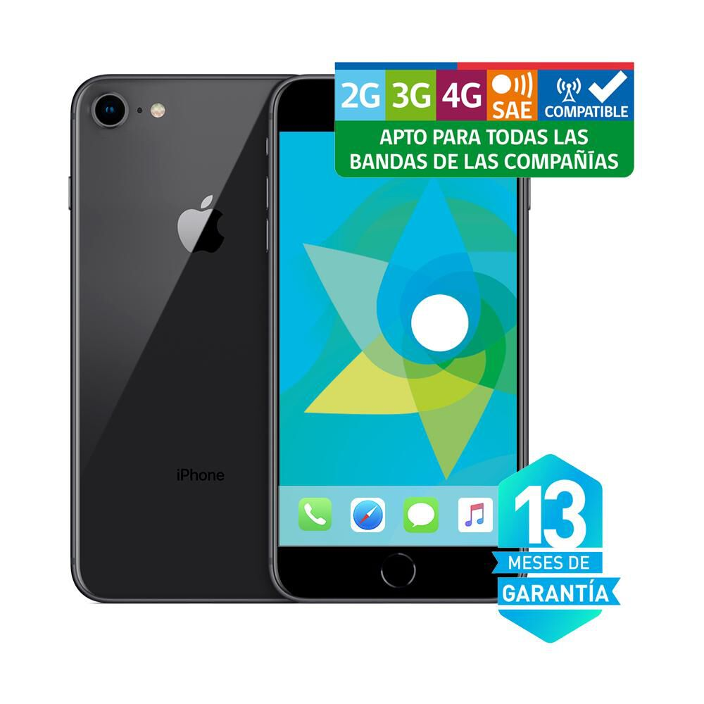 Smartphone Iphone 8 Reacondicionado Gris 64 Gb / Liberado image number 3.0