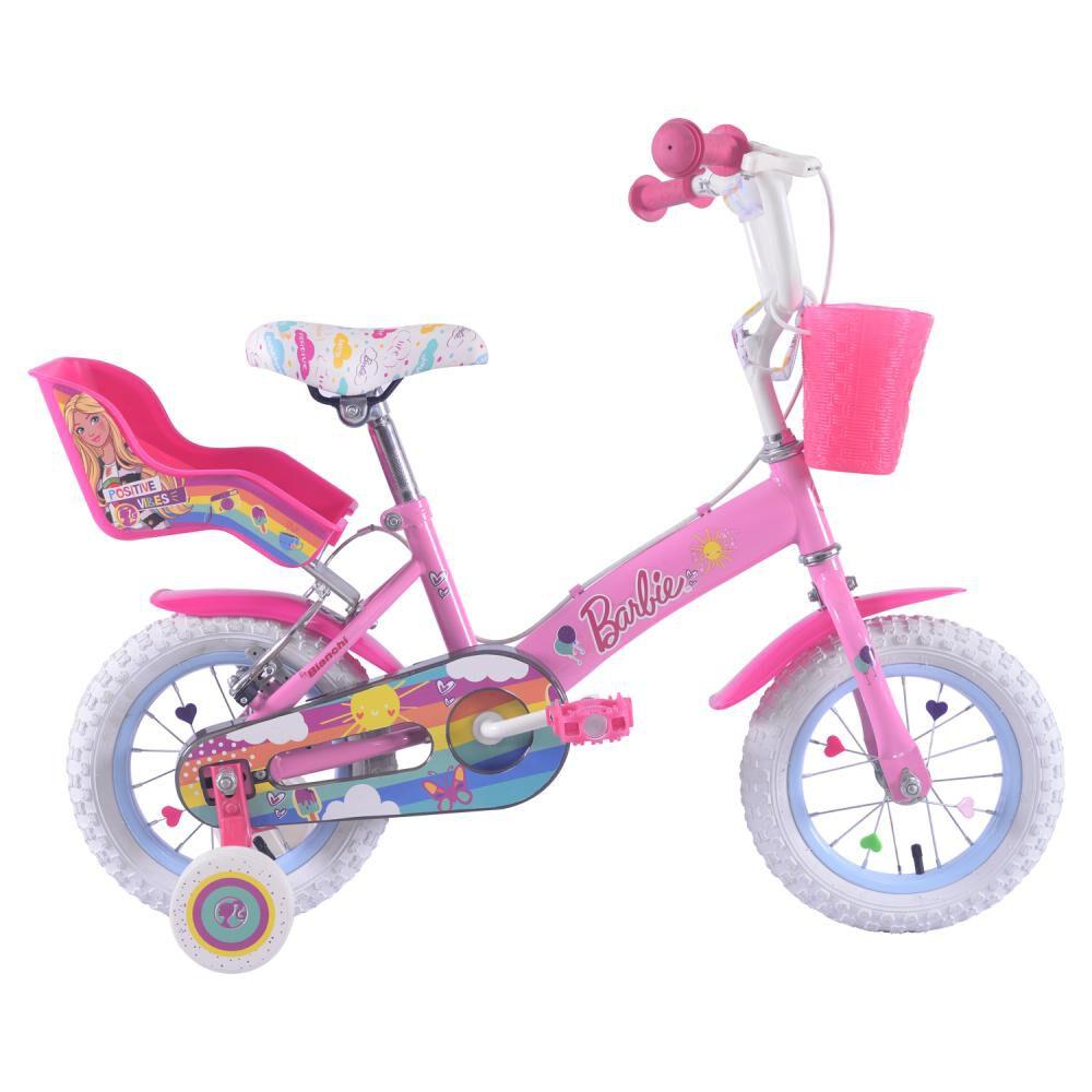 Bicicleta Infantil Bianchi Barbie 12 / Aro 12 image number 0.0
