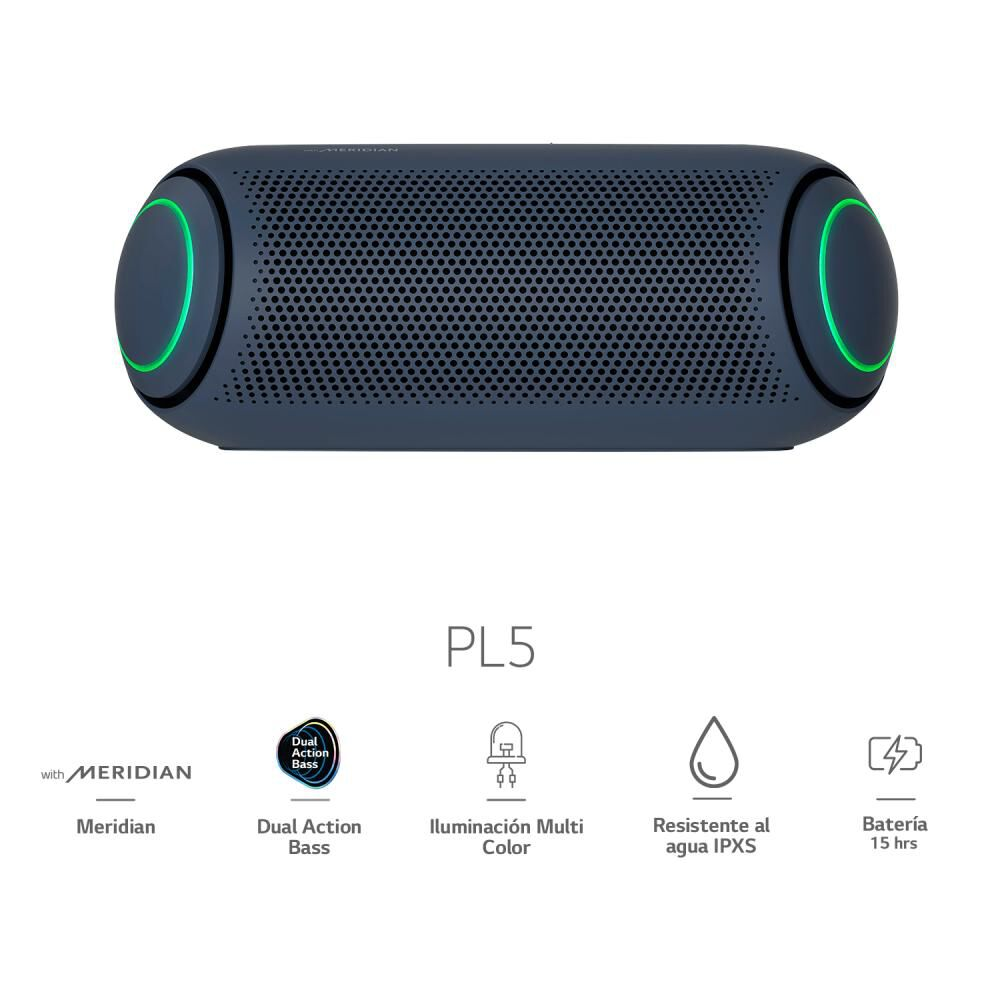 Parlante Bluetooth LG XBOOM Go PL5 2020 image number 0.0