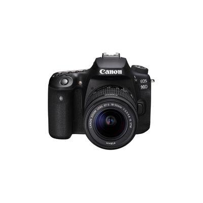 Cámara Profesional Canon Eos 90d / Lente 18-135mm / 32.5 Mpx