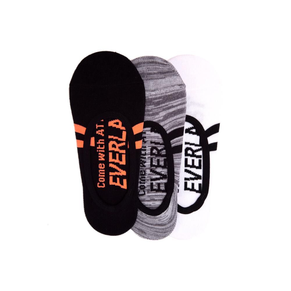 Tripack Calcetines Mujer Everlast image number 0.0