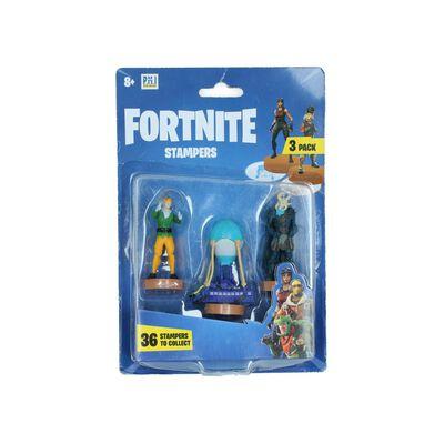 Figura De Accion Fortnite Stampers 3 Pack