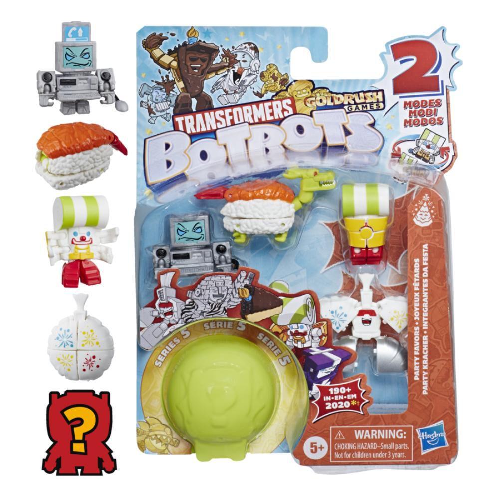Figura De Accion Transformers Botbots 5pk Party Store image number 0.0