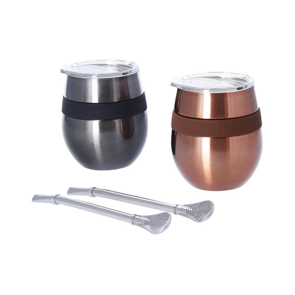 Set Mug Doite Cucao, Copper + Black image number 0.0