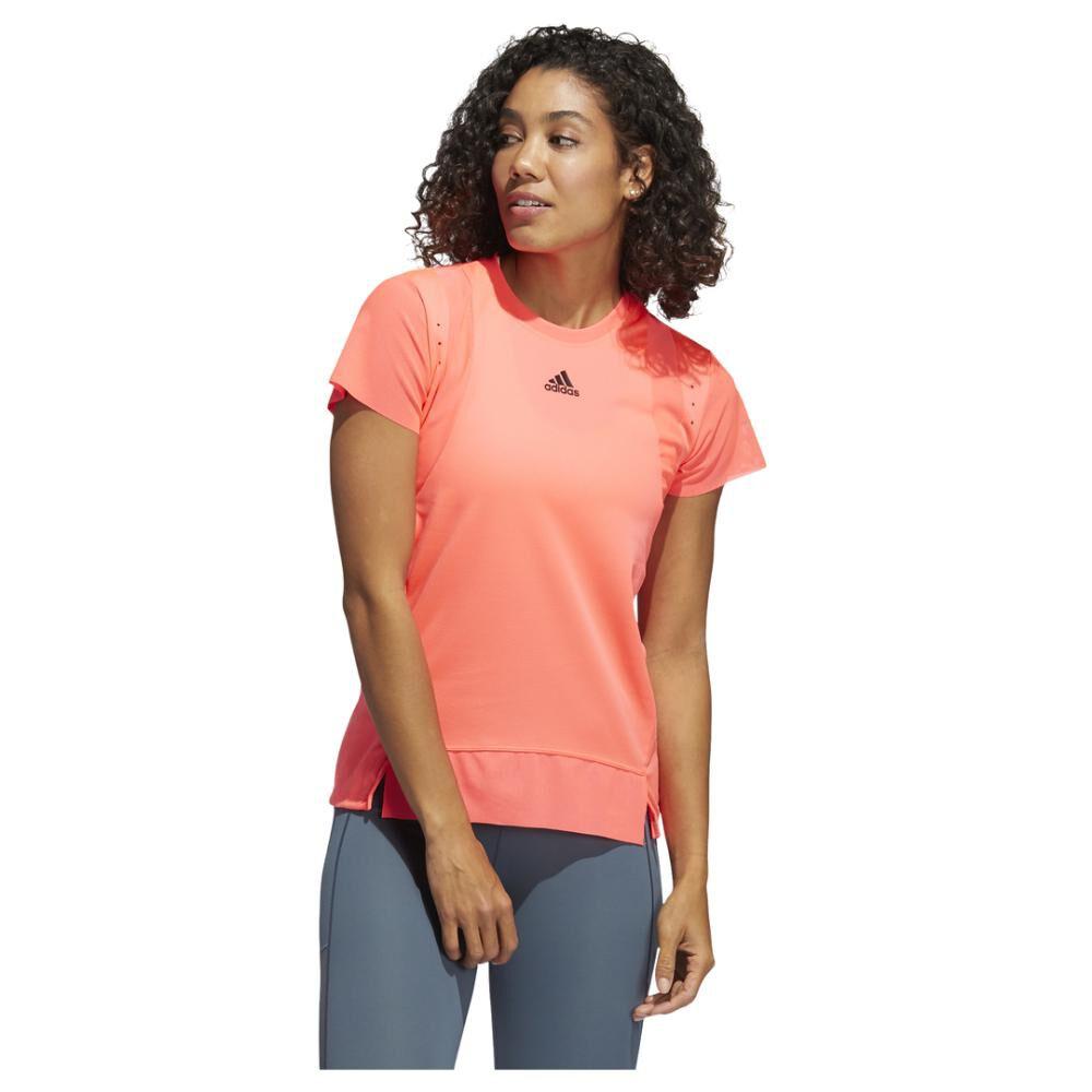 Polera Mujer Adidas De Entrenamiento Heat.rdy image number 0.0