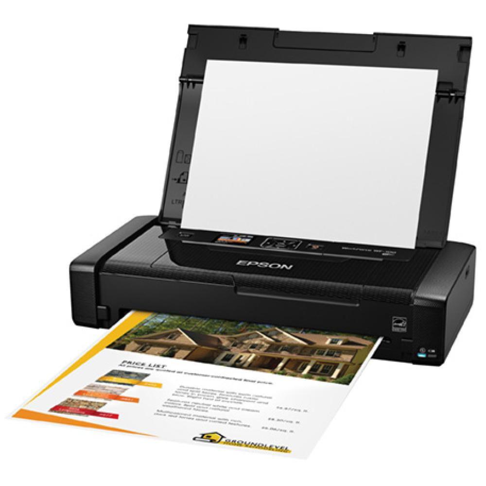 Impresora Epson Wf-100 / Negro image number 2.0