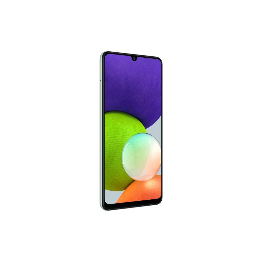 Smartphone Samsung Galaxy A22 Menta / 128 Gb / Liberado image number 4.0