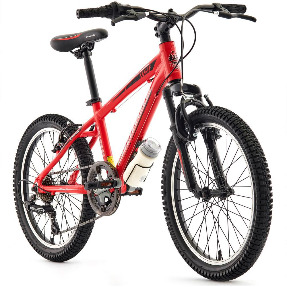 Bicicleta Mountain Bike Bianchi Wolf Alloy Revo / Aro 20 image number 3.0