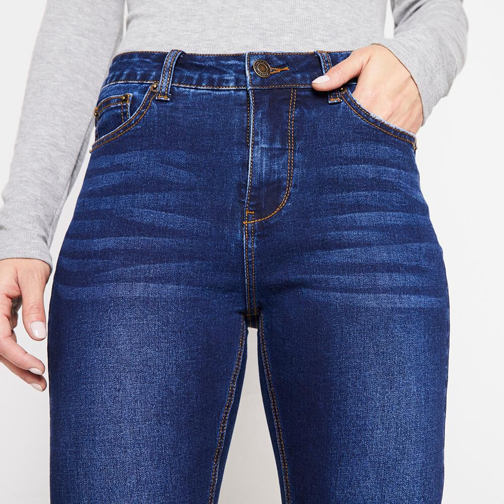 Jeans Mujer Tiro Alto Skinny Kimera image number 3.0