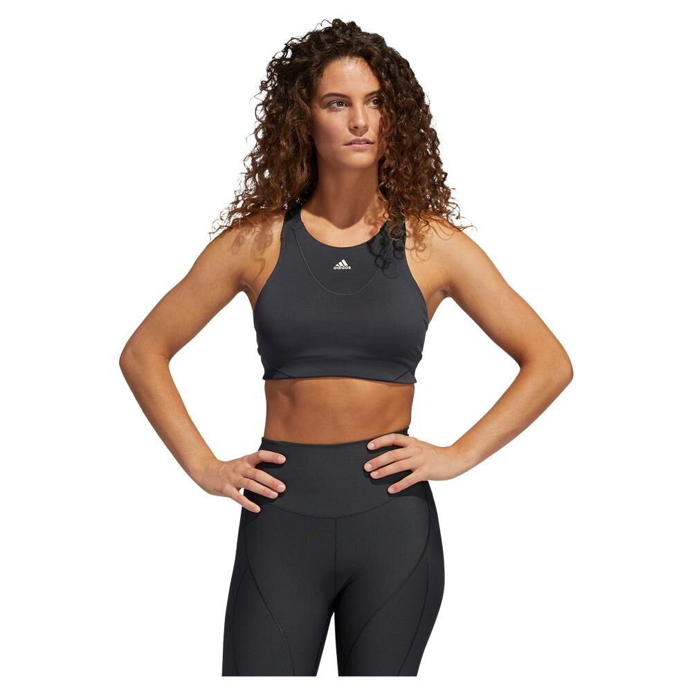 Peto Deportivo Mujer Adidas Medium Suport Yoga Bra image number 0.0