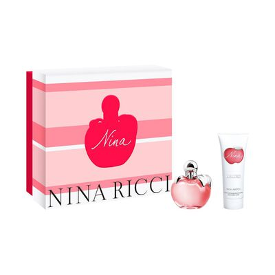Set Nina Edt 50 Ml + Body Lotion 75 Ml Nina Ricci