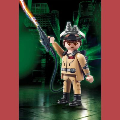 Figura De Película Playmobil Ghostbusters R. Stanz