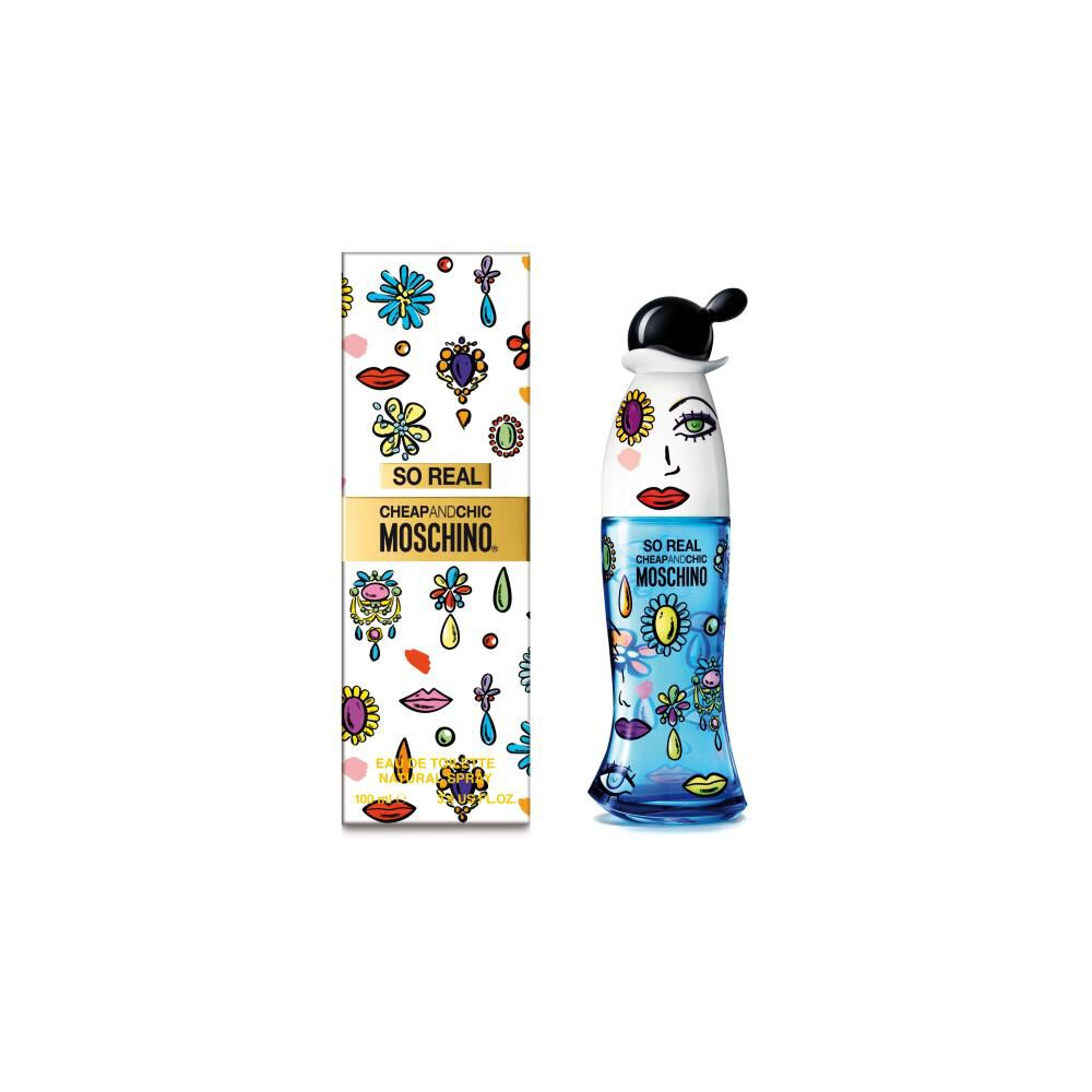 Perfume So Real Moschino / 100 Ml / Edt image number 1.0