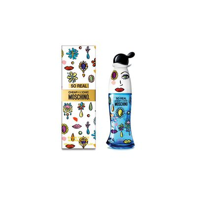 Perfume So Real Moschino / 100 Ml / Edt