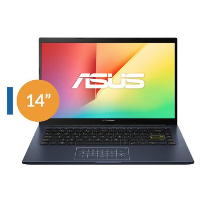 "Notebook Asus X413ea-eb669t / Intel Core I5 / 8 Gb Ram / Intel Iris X Graphics / 256 Gb / 14 """