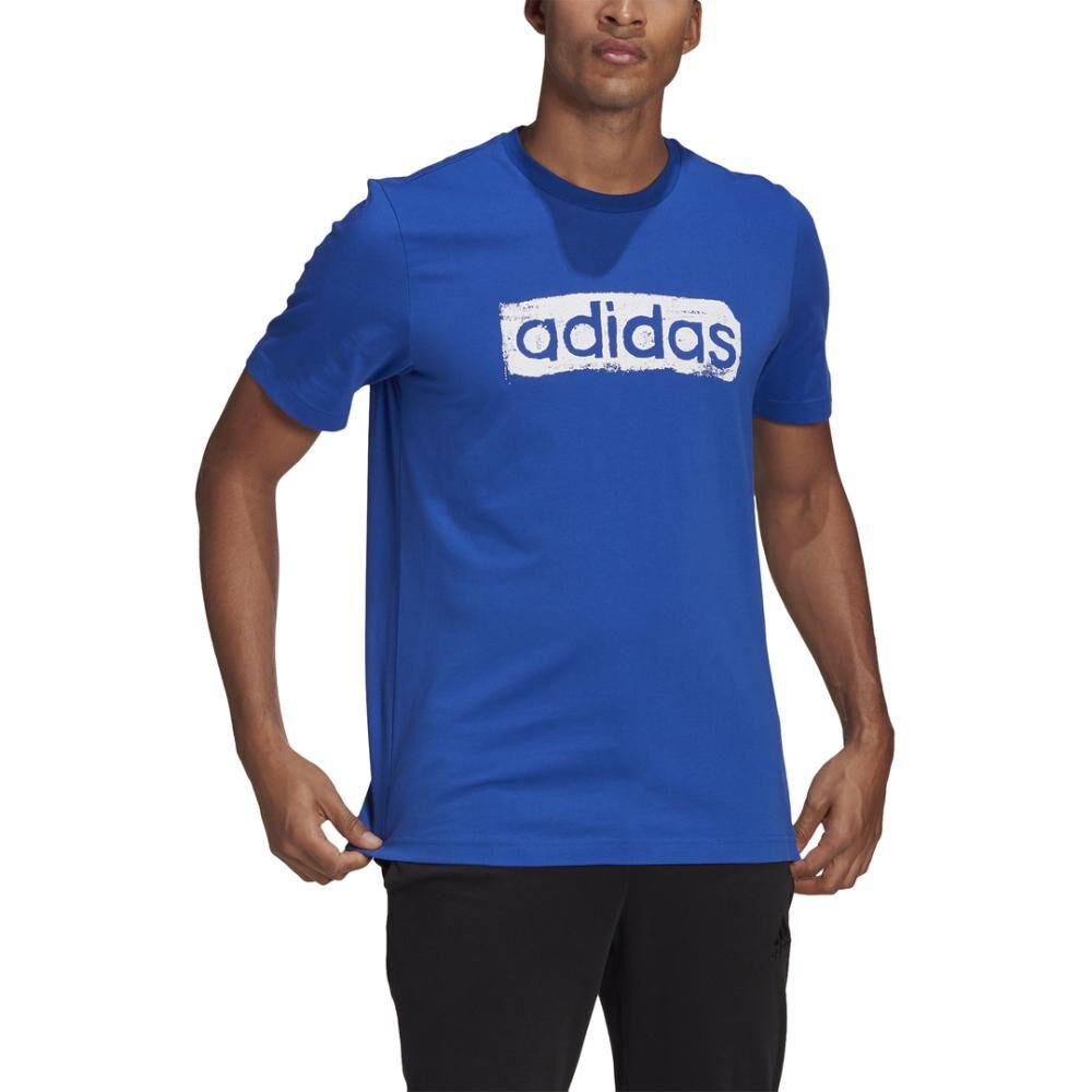 Polera Hombre Adidas Men Brushstroke V4 Tee image number 0.0