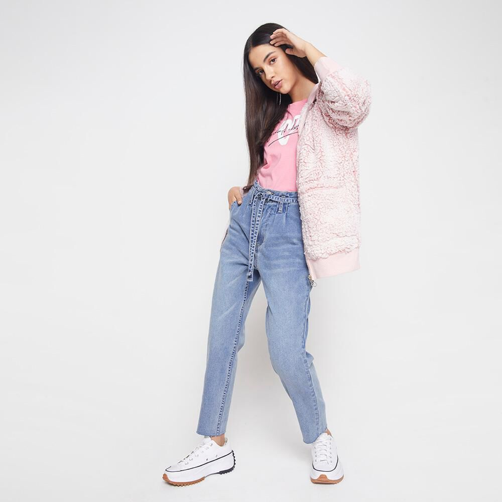 Jeans Mujer Tiro Alto Crop Freedom image number 1.0