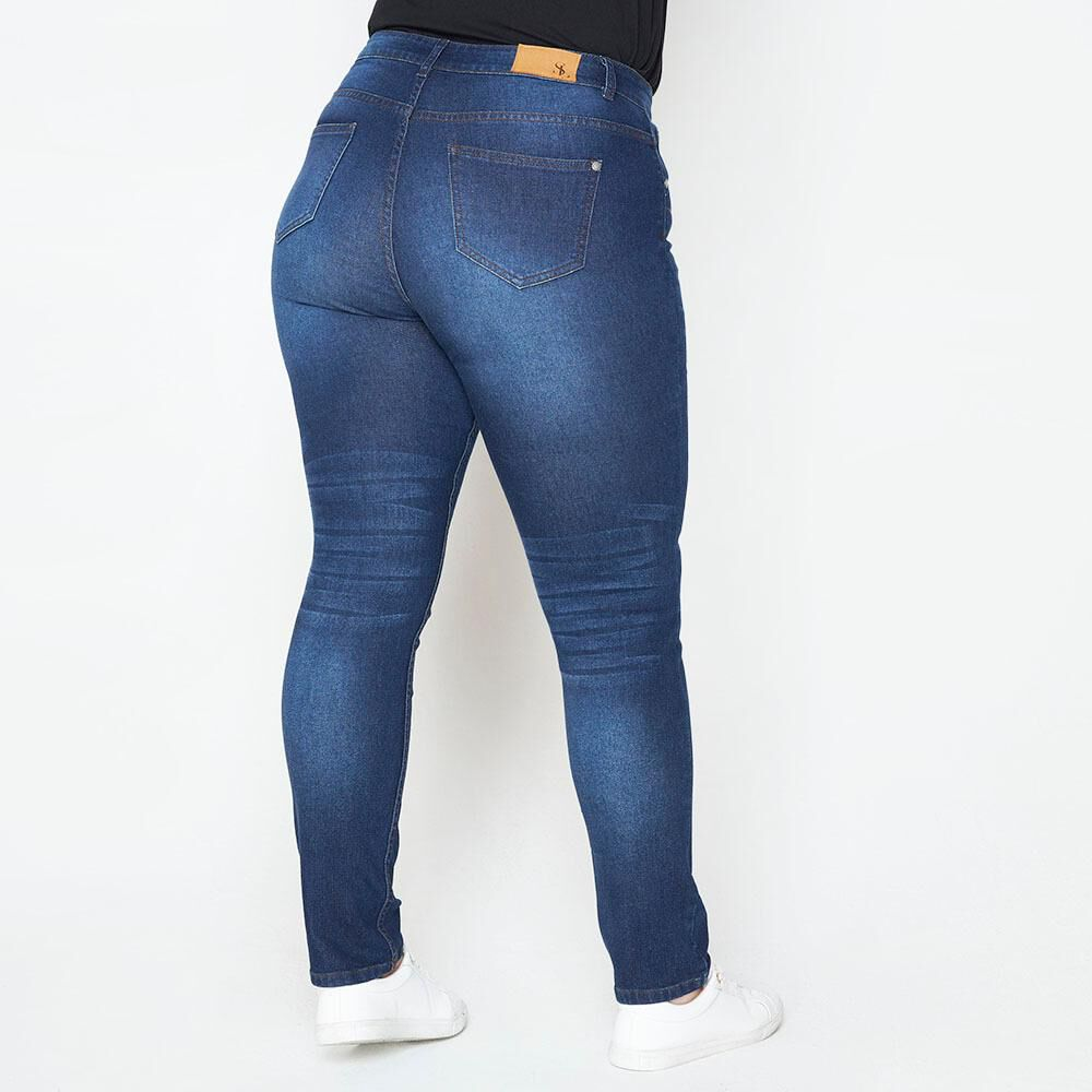 Jeans Tachas Mujer Sexy Large image number 2.0