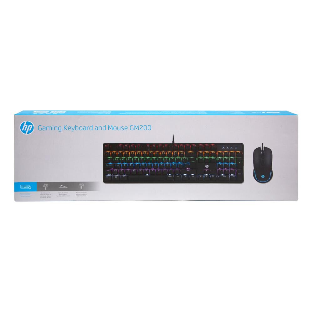 Teclado + Mouse Hp Gm200 - image number 2.0
