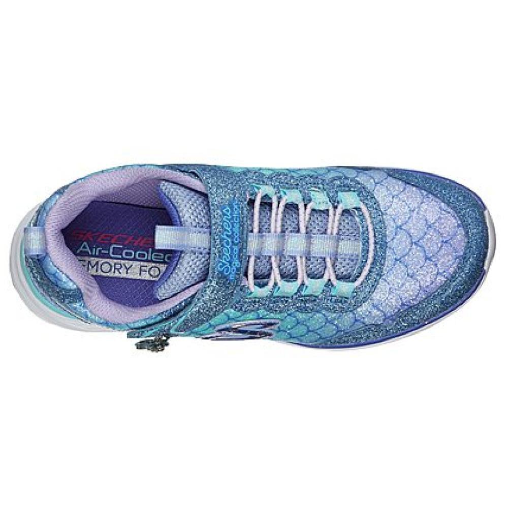 Zapatilla Niña Skechers Glimmer Kicks-sea Sparkle image number 4.0