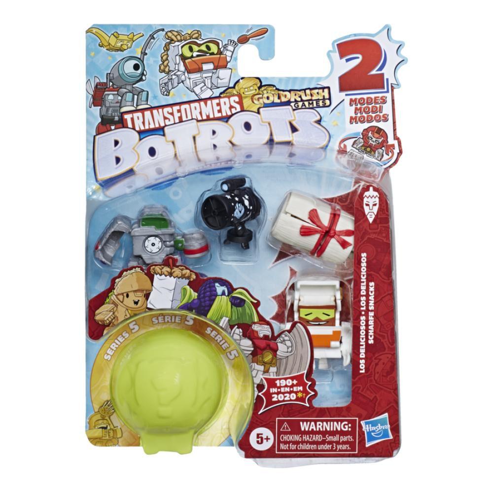 Figura De Accion Transformers Botbots 5pk Latin Food image number 1.0