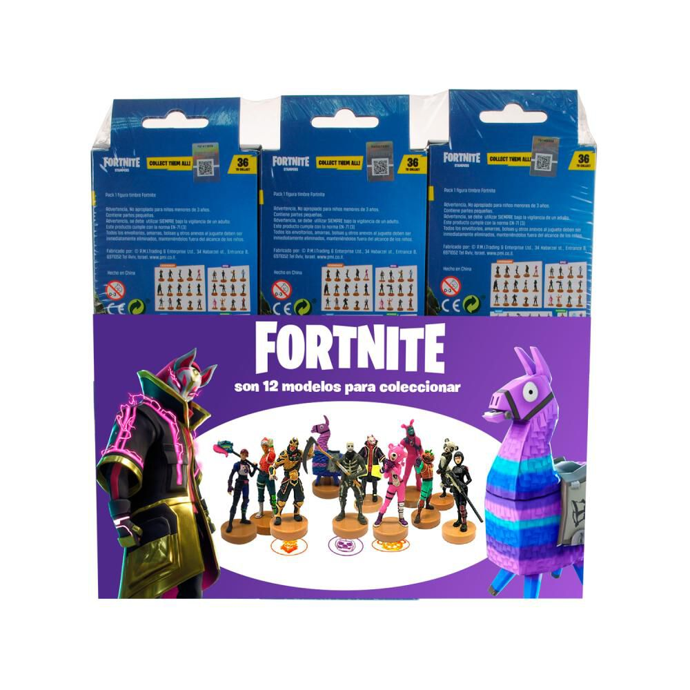 Figuras Coleccionables Fortnite Pack De 6 Stamppers Fortnite image number 0.0