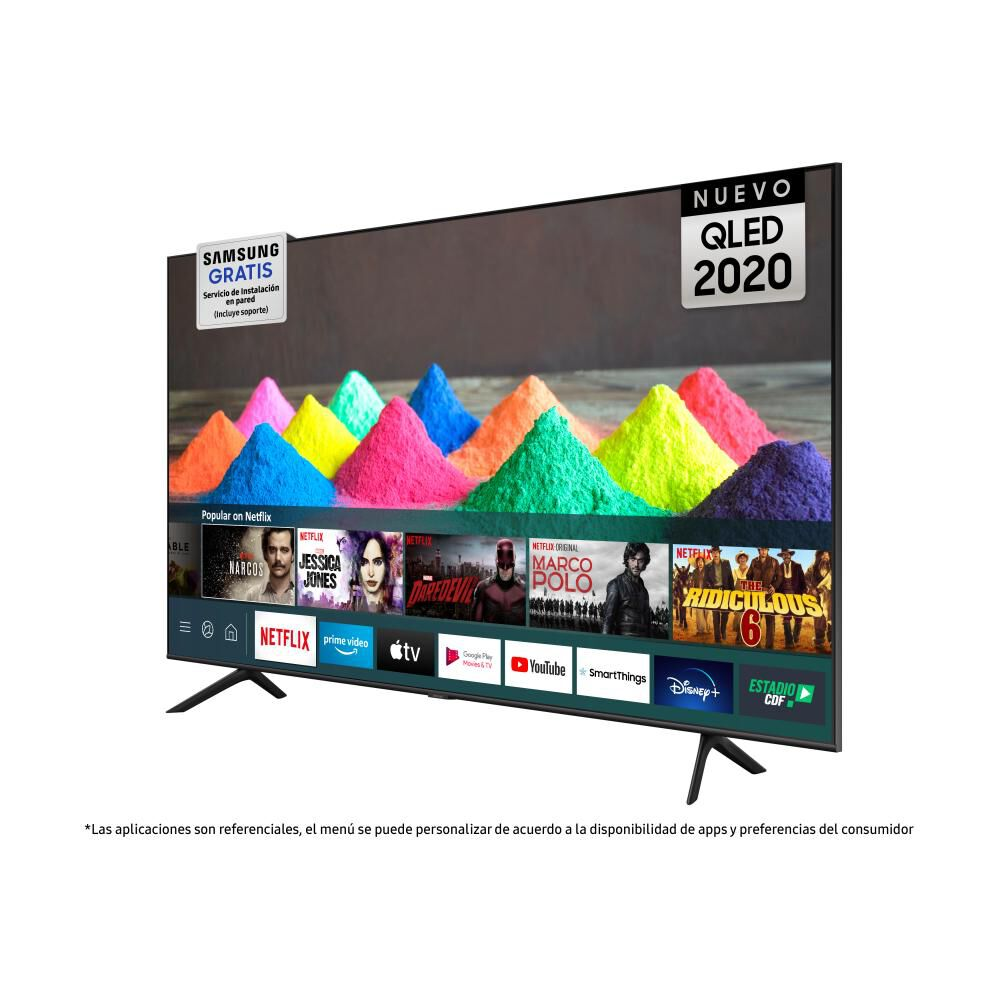 "Qled Samsung 50Q60TA / 50"" / Ultra Hd / 4K / Smart Tv image number 3.0"
