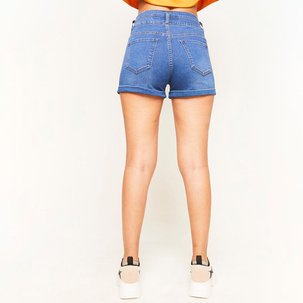 Short Pretina Alta Escultural Mujer Rolly Go image number 2.0