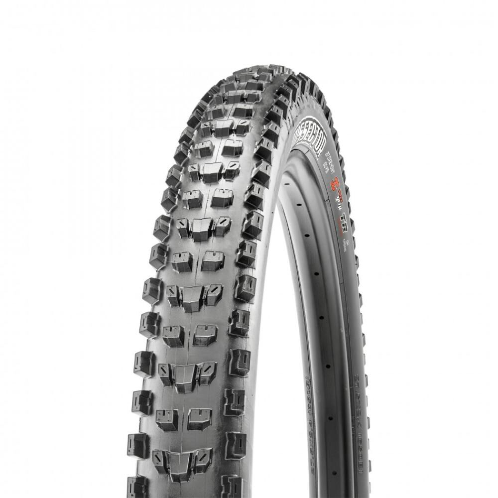 Neumático Mtb Maxxis Dissector 27.5x2.6 K Tr 3ct Exo 60tpi Negro image number 0.0