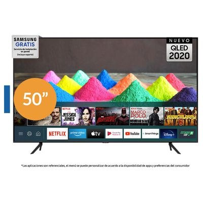 "QLED Samsung 50Q60T / 50"" / Ultra Hd / 4K / Smart Tv"