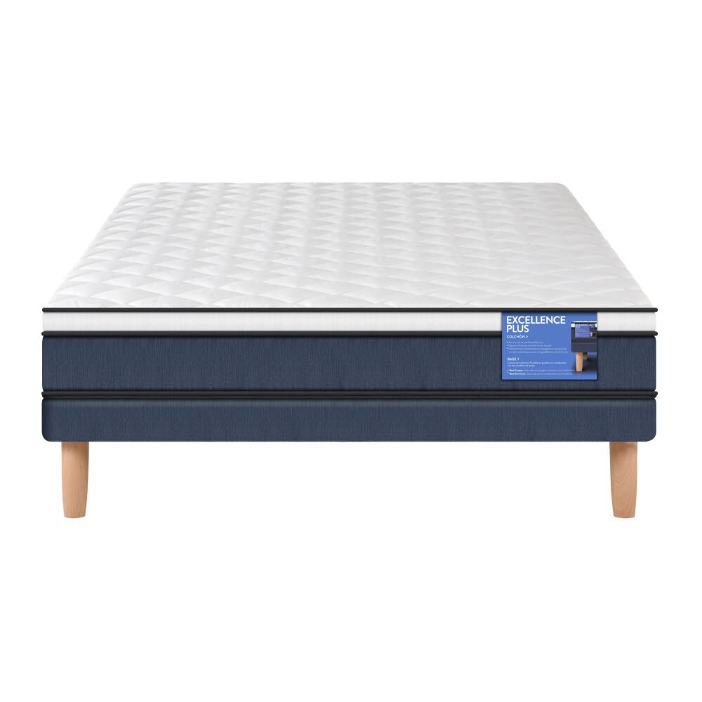 Cama Europea Cic Excellence Plus / 2 Plazas / Base Normal image number 1.0