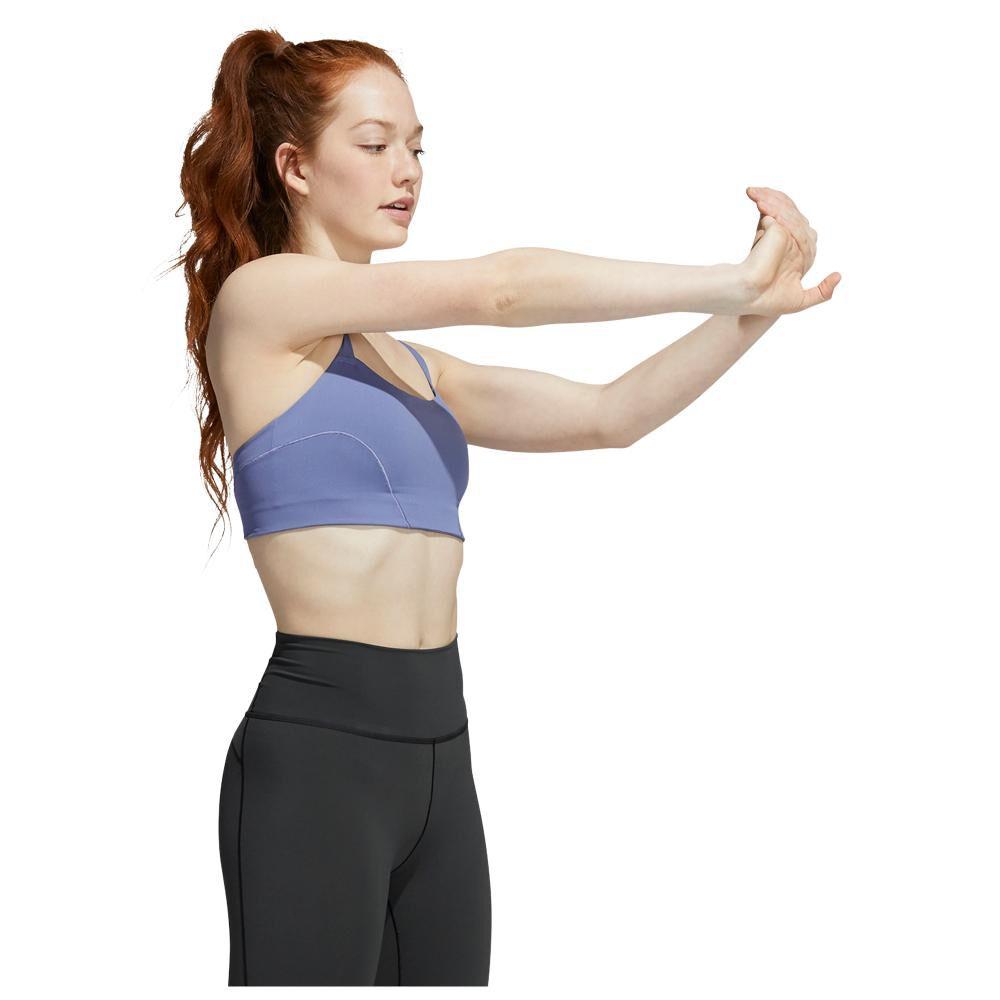 Peto Deportivo Mujer Adidas Light Support Yoga Bra image number 1.0
