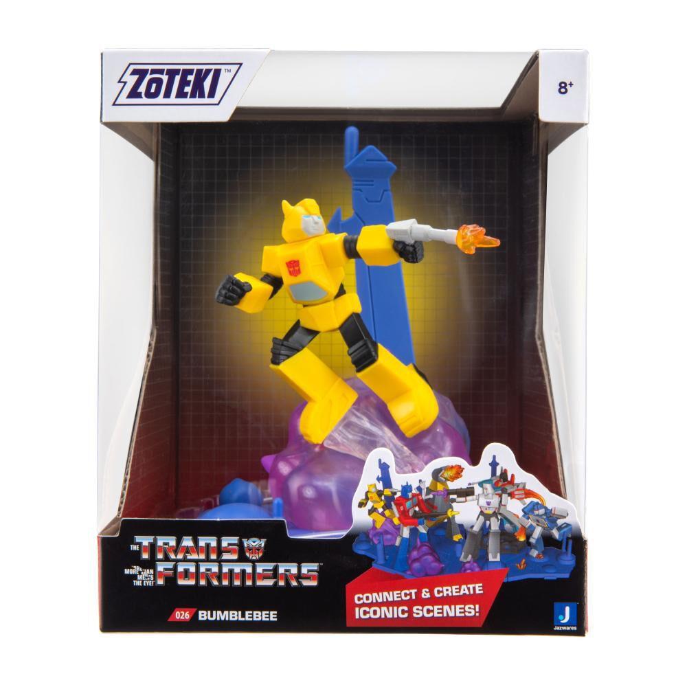 Figura De Acción Zoteki Transformers Bumblebee image number 1.0
