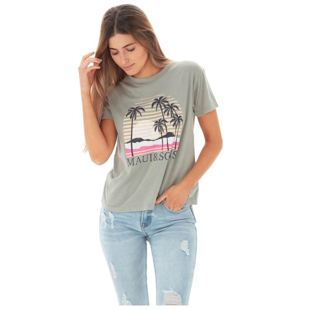 Polera Mujer Maui and Sons image number 5.0