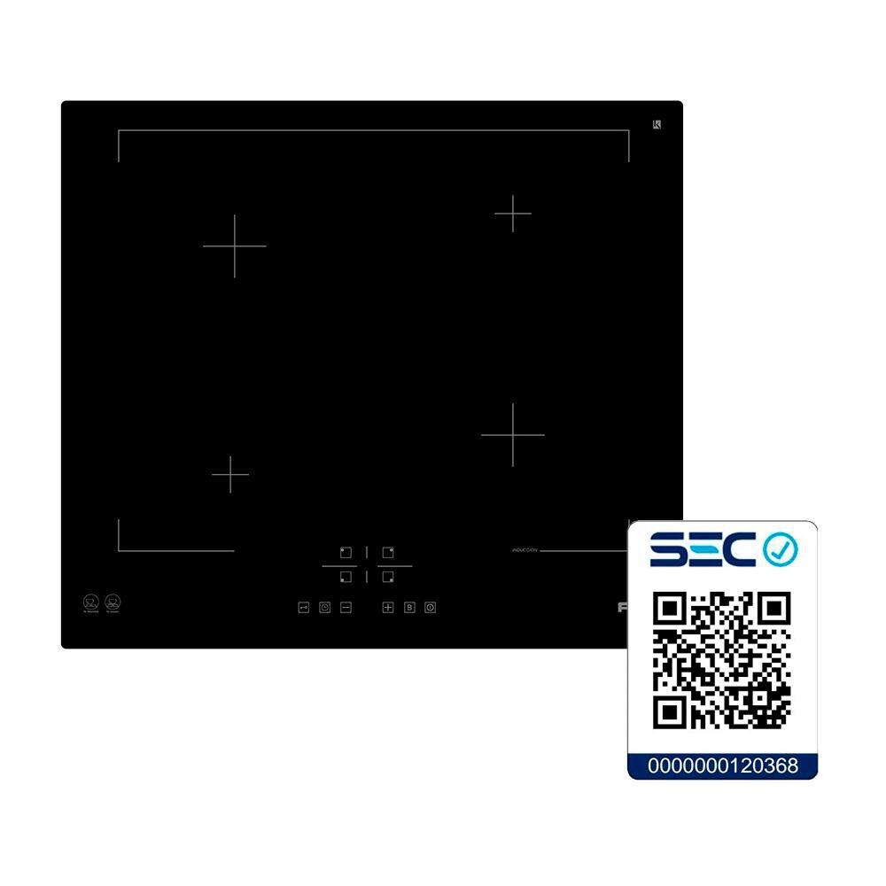 Encimera Inducción Fdv Deluxe 4 Black / 4 Focos image number 3.0