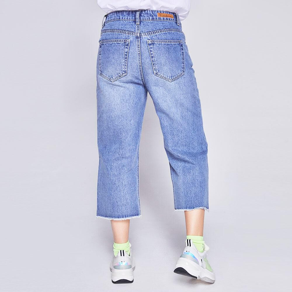 Jeans Mujer Culotte Freedom image number 2.0