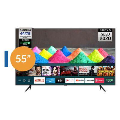 "Qled Samsung 55Q60 / 55"" / Ultra Hd / 4K / Smart Tv"
