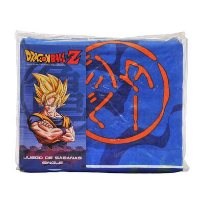 Juego De Sabanas Dragon Ball Z Dragon Ball Z / 1.5 Plazas