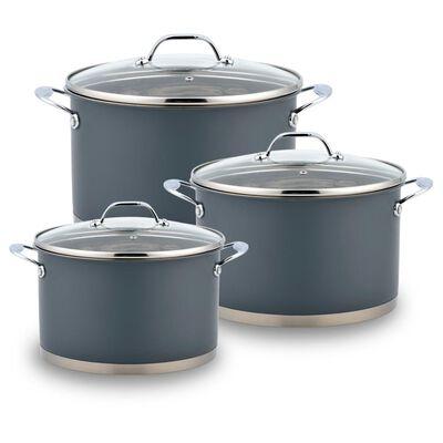 Bateria De Cocina Wens 690 Grey / 6 Piezas
