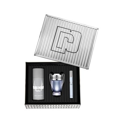 Set Perfumería Edt Masculino Paco Rabanne / Edt 50Ml + Deo 150Ml + Ts 10Ml