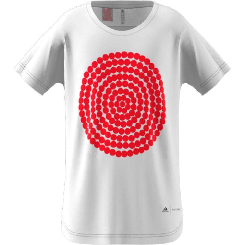 Polera Unisex Adidas Marimekko Graphic T-shirt image number 5.0