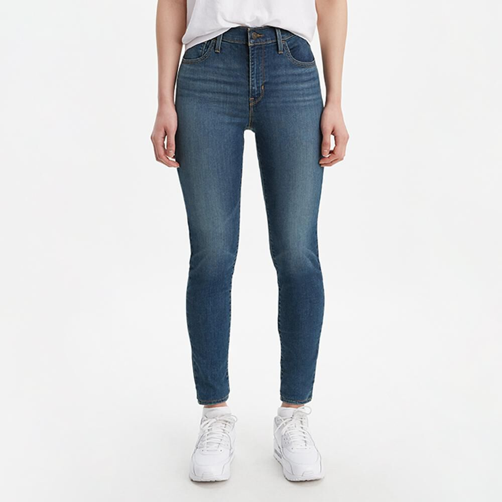 Jeans Mujer Super Skinny Tiro Alto Levi's 720 image number 1.0