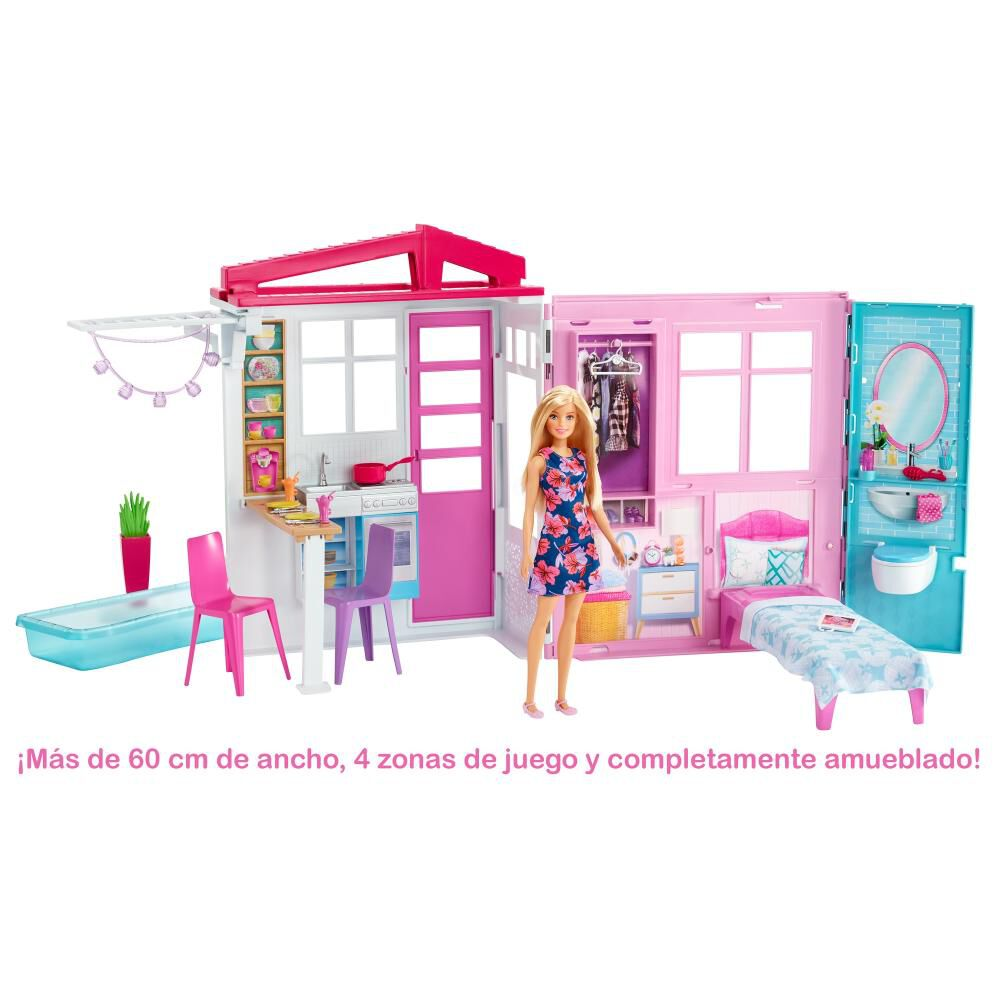 Accesorios Muñeca Barbie Casa Glam Con Muñeca image number 1.0