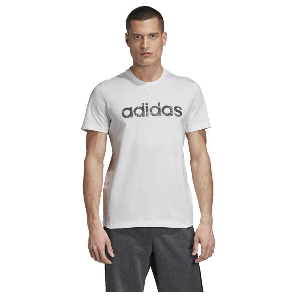 Camiseta Camo Linear Hombre Adidas image number 0.0