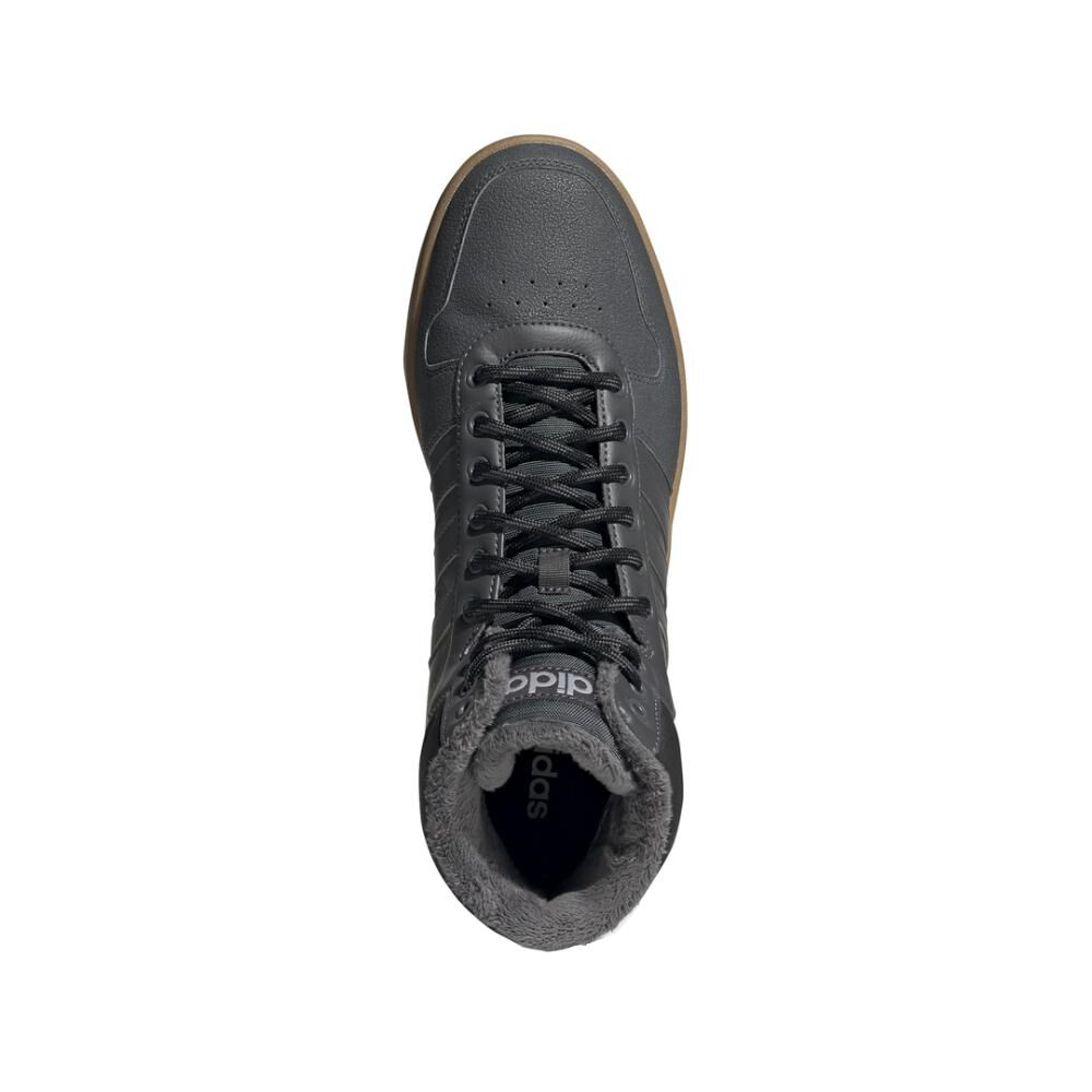 Zapatilla Basketball Hombre Adidas Hoops 2.0 Mid image number 4.0