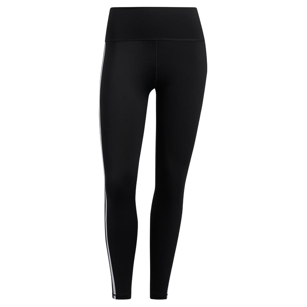 Calza Mujer Adidas Believe This 2.0 3 Stripe 7/8 Tight image number 7.0